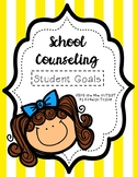 School Counseling Student Goal Tracker