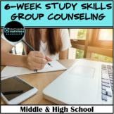 """School Counseling """"Study Skills Group Counseling Curriculum"""""""