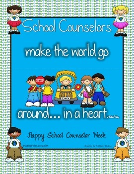 School Counseling Week Poster