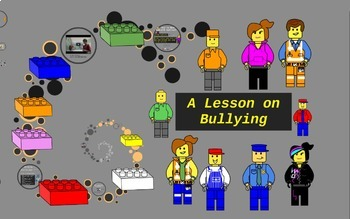 School Counseling lesson on Bullying with Prezi (Lego Theme)