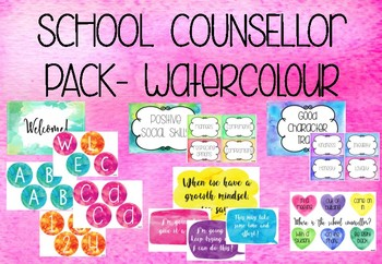 School Counsellor Pack