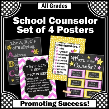 School Counselor Decor Printable Office Signs National Cou