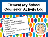 School Counselor Activity Log Elementary