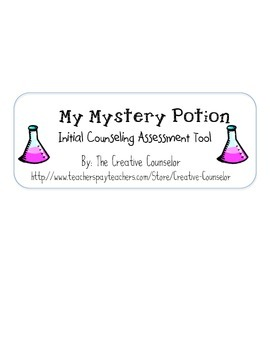 School Counselor Assessment Tool- My Mystery Potion