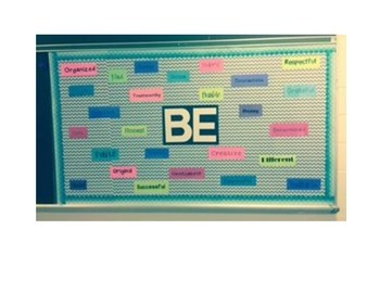 School Counselor BE YOU Bulletin Board