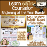 School Counselor Beginning of the yr - New Students Bullet