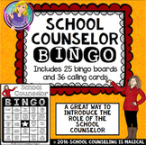 School Counselor Bingo