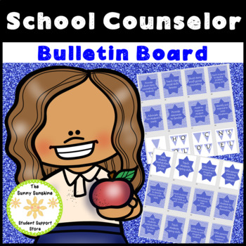 School Counselor Bulletin Board