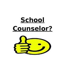 School Counselor Classroom Guidance Sign Up Template