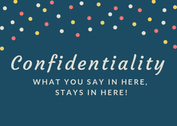 School Counselor Confidentiality Office Decor