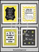 Yellow & Black Counselor Posters, Confidentiality Sign, Counseling Office Decor