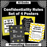 Yellow & Black School Counselor Office Decor, Counselor Door Sign NOT EDITABLE