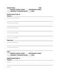 School Counselor Contact Form