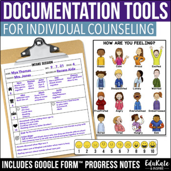 School Counselor Documentation Pack By EduKate And Inspire TpT