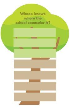 School Counselor Door Sign