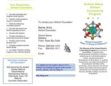 School Counselor Information Brochure