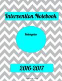 School Counselor Intervention Notebook