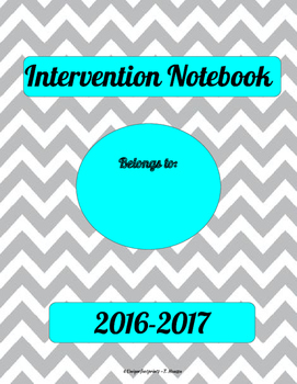 School Counselor Intervention Notebook