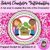 School Counselor Introduction Guidance Orientation with a