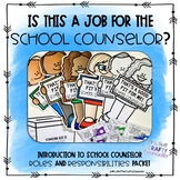 School Counselor Introduction Packet, Walk in Their Shoes