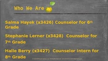 School Counselor Mid-Year Program Presentation