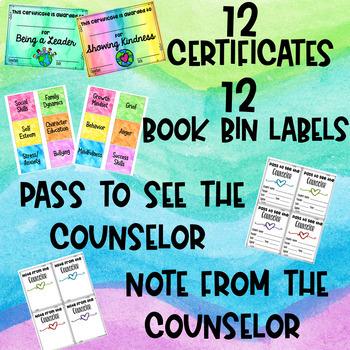 School Counselor Office Decor Set