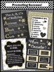 Gold Black Where is the School Counselor Sign Confidentiality Set NOT EDITABLE