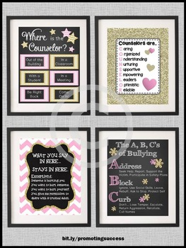 School Counselor Office Door Sign, Counseling End of the Year Gift Ideas