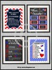 School Counselor Posters, Counseling Office Decor, Red White Blue NOT EDITABLE
