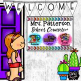 School Counselor Office Signs, Bulletin Board, Decor Edita