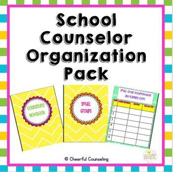 School Counselor Organization Pack