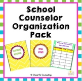 School Counselor Organization Pack