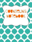 School Counselor Organization Pack: Turquoise & Orange
