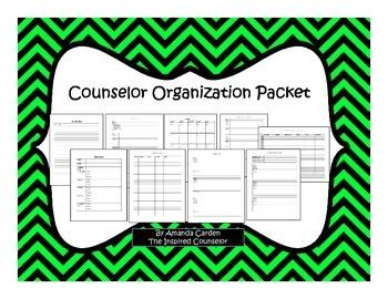 School Counselor Organization Packet