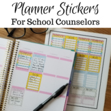 School Counselor Planner Stickers