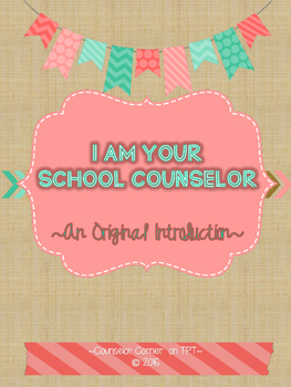 """School Counselor 'Poem' """"Fancy"""" Set {Coral & Mint}"""