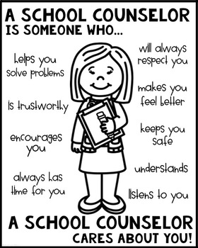 School Counselor Poster [Someone Who]
