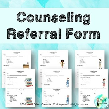 Counseling Referral Form