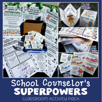 School Counselor Superpowers (Counselor Intro, Meet the Counselor)