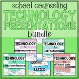 School Counselor Technology Presentations Bundle