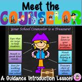 School Counselor Virtual Treasure Hunt:Introducing the Rol
