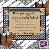 School Counseling Week Poster:  Have You Hugged a Counselor Today