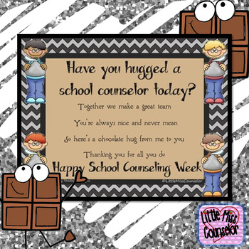 School Counselor Week Poster #4