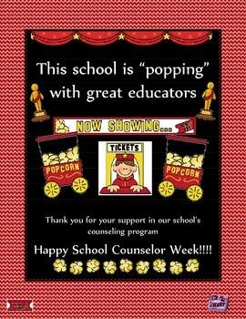 School Counselor Week Poster #6