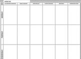 School Counselor Weekly Calendar
