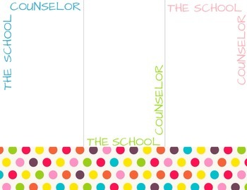 School Counselor stationary