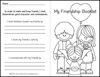 School Counselor's February Activity Pack- Savvy School Counselor