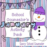 School Counselor's January Activity Pack- Savvy School Counselor