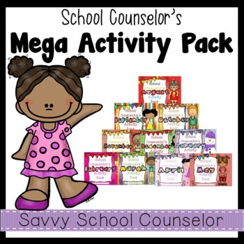 School Counselor's MEGA 10-Month Activity Pack