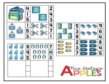 School Counting 1-10